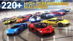 Offline games for iOS. Asphalt 8 Airborne
