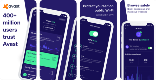 Avast Security & Privacy for iOS
