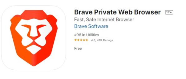 Brave Browser for iOS