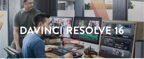 Davinci Resolve 16. Video Editors for Mac