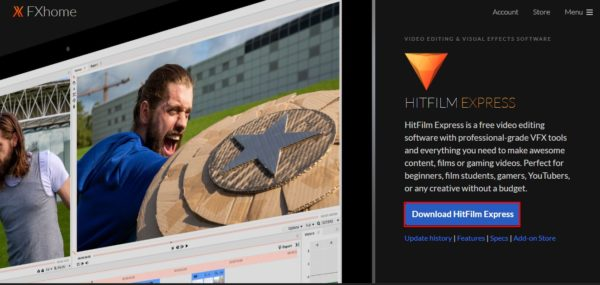 HitFilm Express for Mac