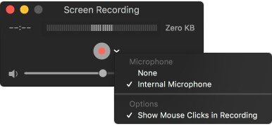 Screen Recording on macOS