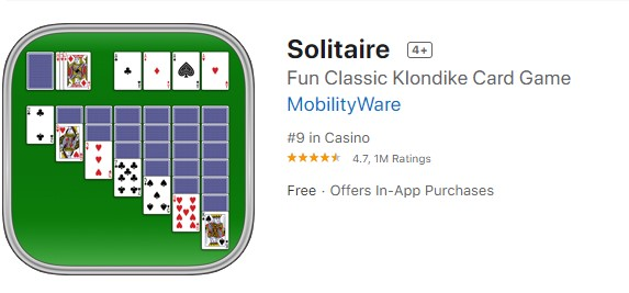Solitaire for iOS