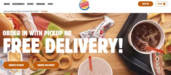 Burger King Official Website Homepage